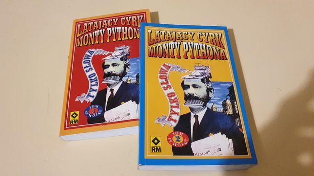 Latający Cyrk Monty Pythona - Tylko Słowa - dwa tomy