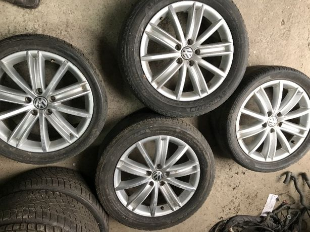 ДИСКИ Volkswagen Tiguan 245 40 R18 7jx18h2 колеса ОРИГИНАЛ