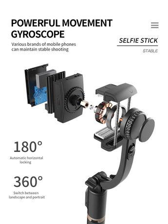 Gimble / Selfie Stick NOVO