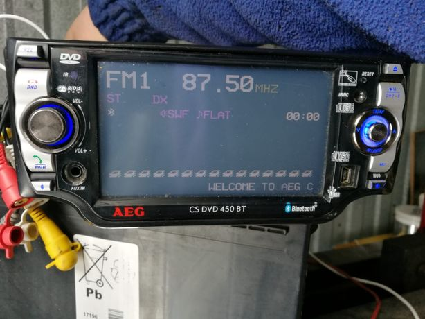 Radio samochodowe AEG cs DVD 450 BT