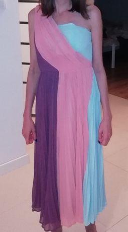 Suknia asos plisowana 36
