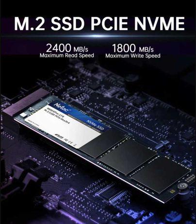 НОВЫЙ SSD m2 NVME NETAC 512GB высокоскоростной PCIe m2 2280 диск