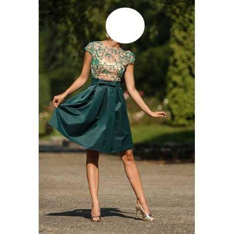 Sukienka rozkloszowana Monnom Boutique