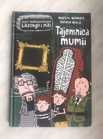 """Książka """"Tajemnica mumii' dla dzieci"""
