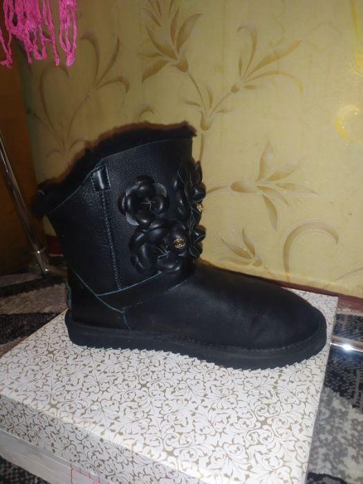 Зимние ботинки (уги) замшевые ботинки на платформе Харьков - изображение 1