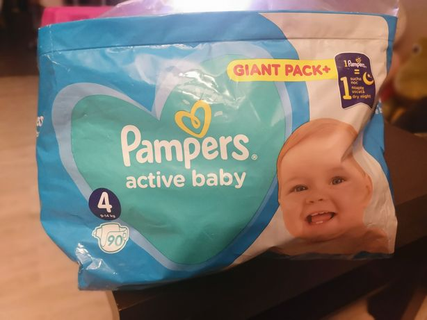 Pampersy 4 active baby