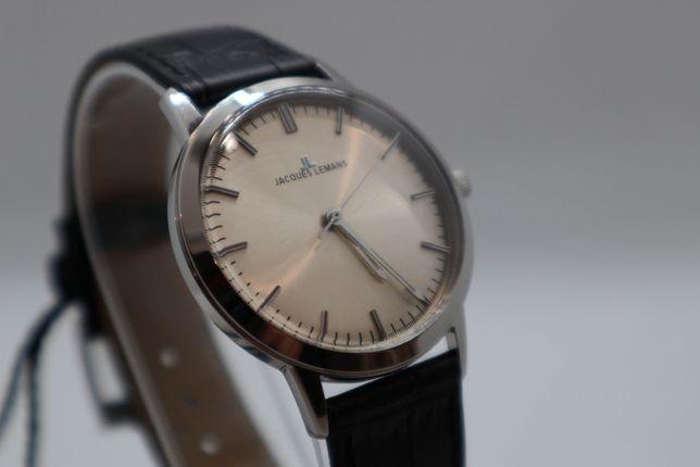 Zegarek JACQUES LEMANS N-1563A Nowy Faktura