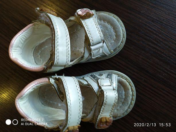 Босоножки сандали кожа clibee