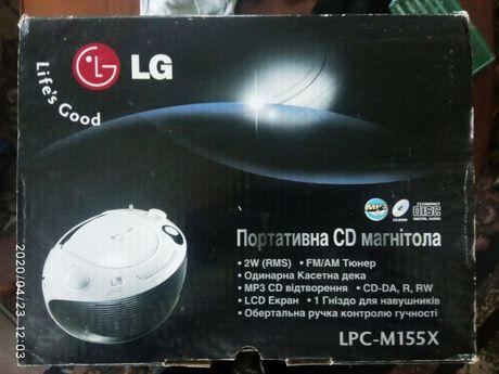 LG магнитолла