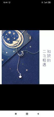 Подвеска Луна и звезда