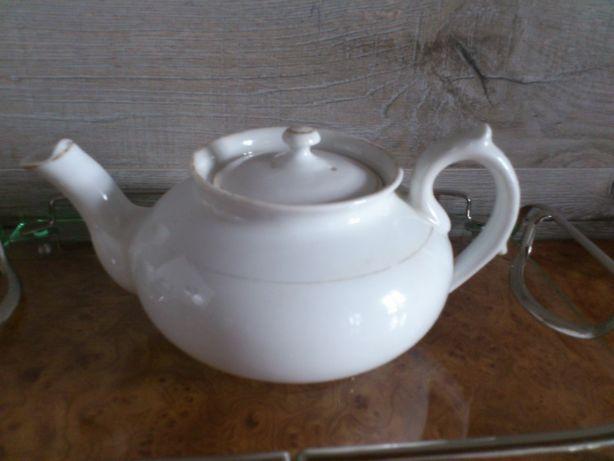 Kolekcjonerska porcelana Kuzniecow czajnik do parzenia herbaty antyk