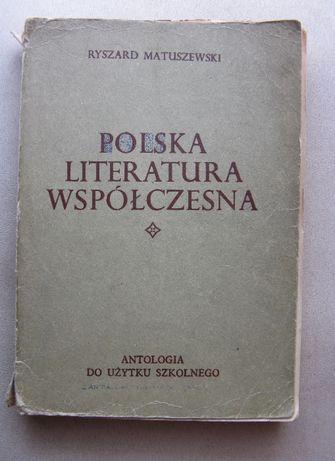 Polska Literatura Współczesna-Ryszard Matuszewski