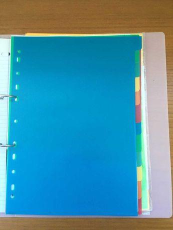 Separadores de Plástico da Note