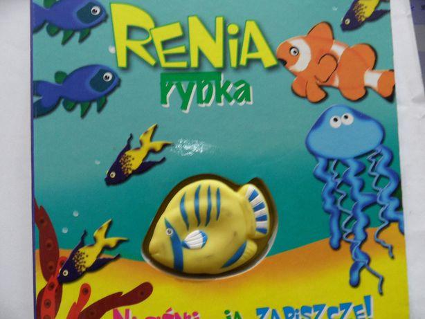 Książeczka Renia rybka twarde kartki