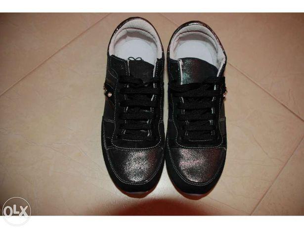 Sneakers/Sapatilhas de couro Morgan NOVAS nº38