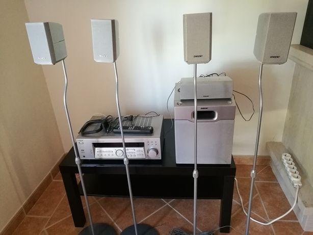 Sistema sourrond 5.1 com amplificador da Sony