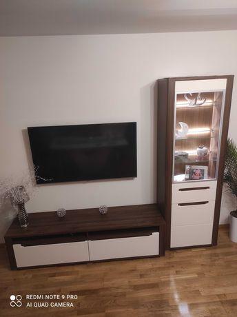 Zestaw mebli  szafka TV+ komoda+witryna