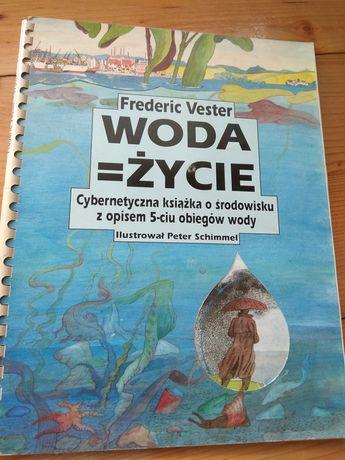 Cybernetyczna książka Woda-życie Vestera