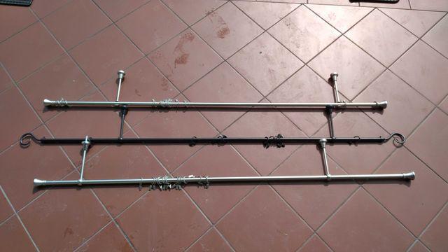 Karnisz 160cm metalowy