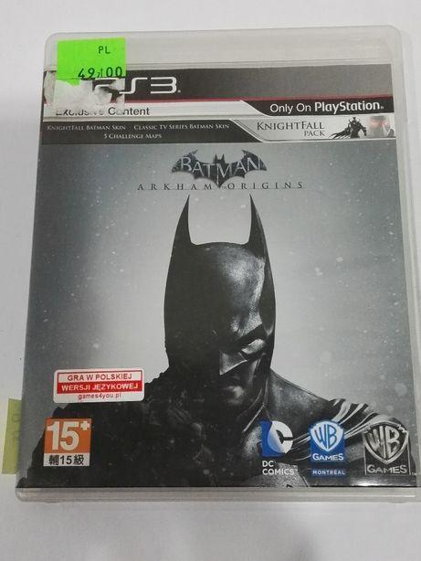 Lombardowski. Batman Arkham Origins gra PS3