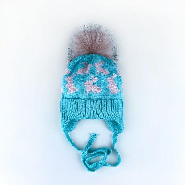Зимние шапки для девочек Житомир - изображение 1