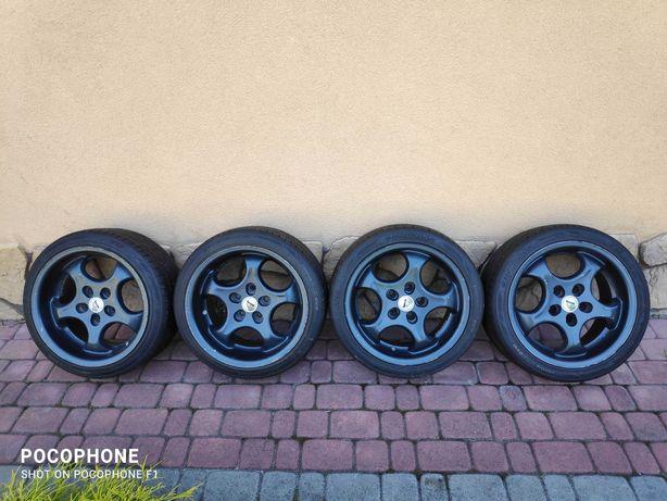 Alufelgi Brock Car-Fashion 7,5Jx16H2 i 9Jx16H2 z oponami.