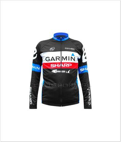 Ocieplana bluza kolarska GARMIN, rozmiary od S do 4XL