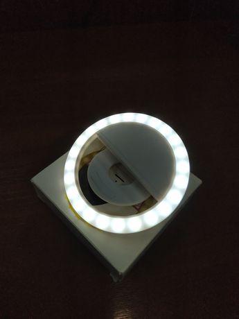 Кольцевая лампа, светодиодное кольцо для селфи