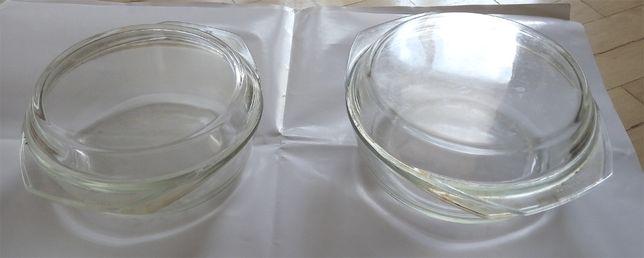 Набор кастрюль жаростойкое стекло 2 шт