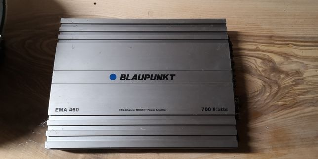 Wzmacniacz Blaupunkt EMA460 700W subwoofer Magnat xpress 12