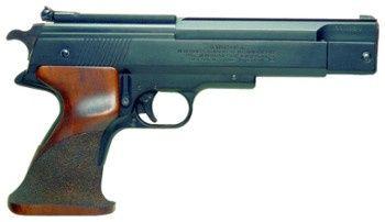 Pistolet wiatrówka HW 75 PCA < 17J, drewno, kal.4,5mm