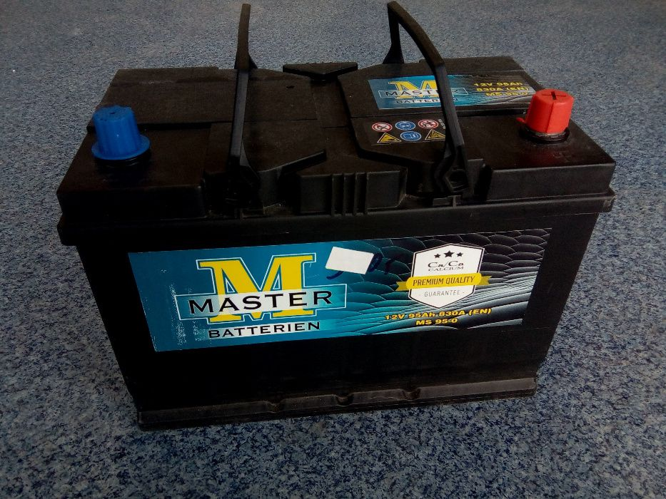 Akumulator MASTER VARTA 95Ah JAPAN P+ Brzeziny Brzeziny - image 1