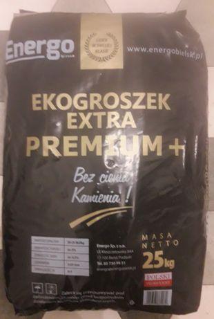Ekogroszek Energo Extra Premium + 26-28 MJ/kg super jakość transport