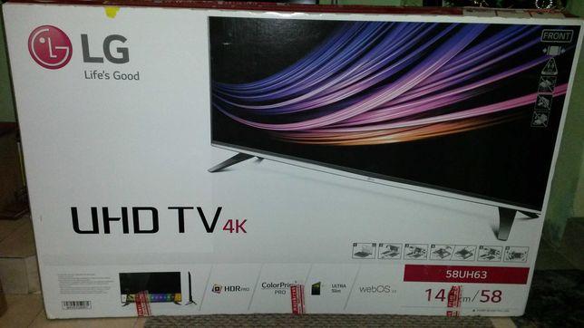 TV  58 cali  LG  UHD 4K  SMART TV  TUNER SAT  Bluetooth  58UH635V