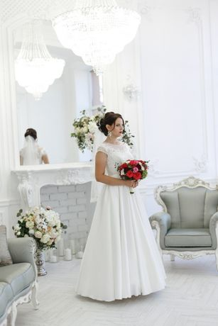 Очень красивое и нежное свадебное платье!