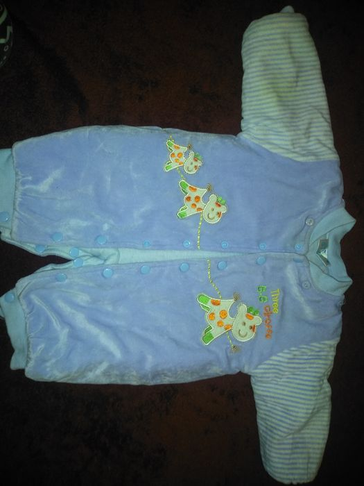 Продам зимний теплый комбинезон и курточка демисезонная Херсон - изображение 1
