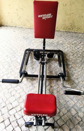 Máquina de remo e musculação KETTLER