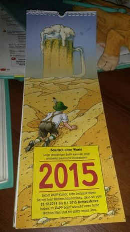 Немецкий календарь