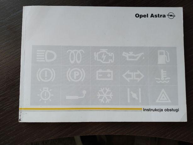 Instrukcja obsługi Opel Astra F