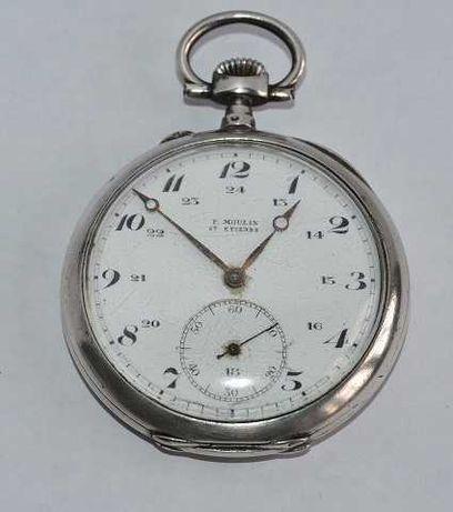 Relógio de Bolso em AG. Antigo