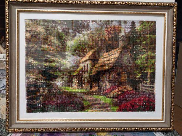 """Картина """"Домик в лесу"""""""