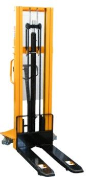 Empilhador Stacker Monta-Cargas manual c/ elevação até 3 metros