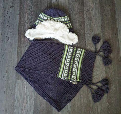 Зимний комплект, набор LENNE шапка и шарф 54р.