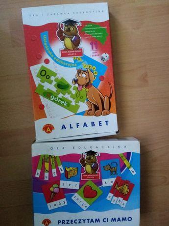 Alfabet, puzzle, klaser z literami
