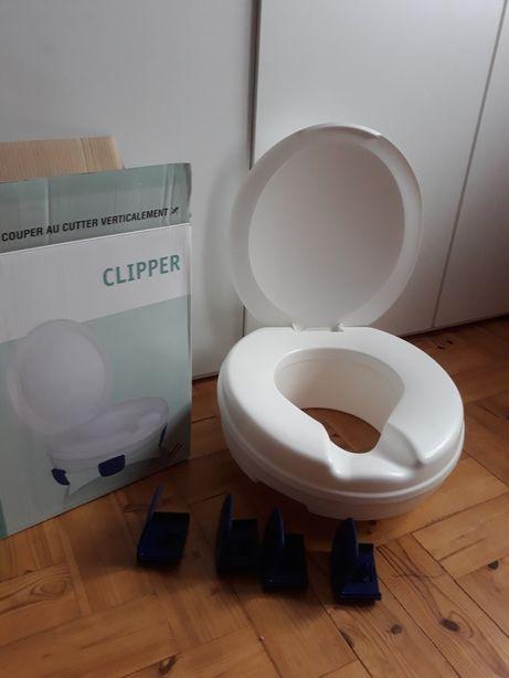 Nasadka podwyższająca sedes i podpórka do wc