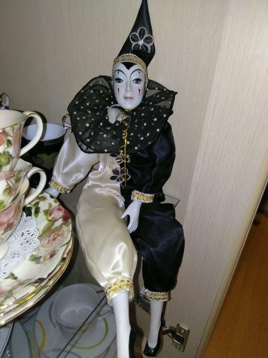 Лялька вінтаж/Кукла фарфоровая интерьерная