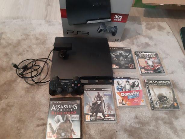 PlayStation 3 320 GB . Stan idealny . Kamerka plus gry .