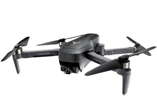Квадрокоптер дрон SG906Pro2 4K камера, подвес 3 оси+Сумка