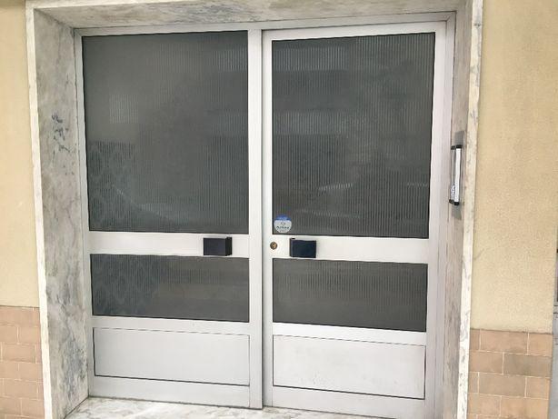 Portas de rua aluminio