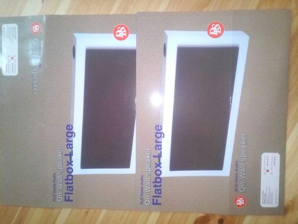 Интерьерная HiFi акустика DLS Flatbox Large Black,White